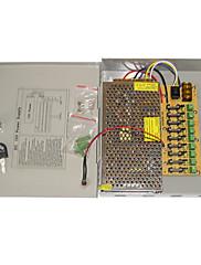 9-kanálový 12V DC 10A zdroj pro CCTV  systém