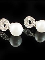 豪華な合金/人造真珠♥ウェディング♥ピアス