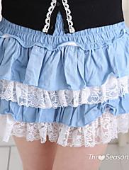 ženske elastične čipke sloja suknja