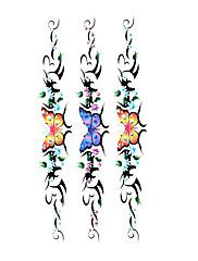 5 ks motýla vodotěsný dočasné tetování (19 m * 9 cm)