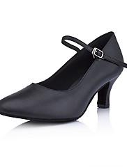 sál kožené horní taneční boty taneční sál moderní boty pro ženy více barev