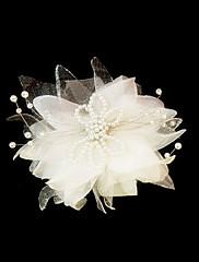 Ženy Satén Imitace perly Přílba-Svatba Zvláštní příležitost Ozdoby do vlasů Květiny