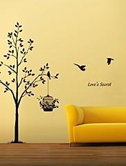 Životinje / Botanički / Mrtva priroda Zid Naljepnice Zidne naljepnice Dekorativne zidne naljepnice,# Materijal Može se prati / Odstranjivo