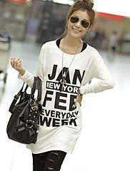 長い基本ルーズTシャツ
