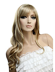 capless dlouhé kudrnaté kvalitní syntetické vlasy paruka