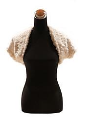 Elegantní umělé kožešiny svatební / zvláštní příležitosti šátek / zábal