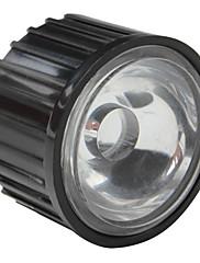 20mm 120 ° optičko staklo objektiv s okvirom za baterijske svjetiljke, spot svjetla
