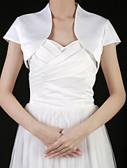 Gorgeous Satin Wedding / Special Occasion Jacket / Wrap (More Colors)