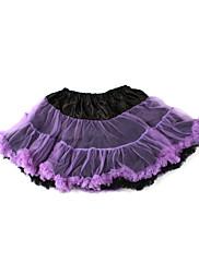 女性のためのダンスウェアポリエステルバレエチュチュスカート
