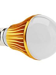 E27 5w 400-450lm 3000-3500K teplá bílá světle zlatá skořápka led míč žárovka (85-265V)