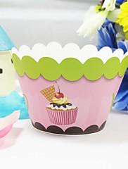かわいいカップケーキラッパー(12個セット)