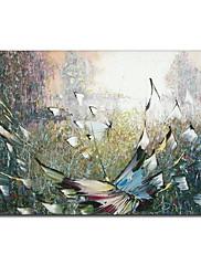 手塗りの油絵動物1211-AN0048