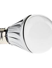 E27 4w 330-350lm 6000-6500K přírodní bílá světla vedl míč žárovky (110-240V)