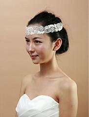 krásné svatební krajka s Čelenky imitace PEARL ženských
