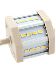 6W R7S LEDコーン型電球 T 12 SMD 5630 600 lm 温白色 AC 85-265 V