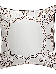 素晴らしさの銀刺繍装飾枕カバー