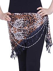 dancewear polyester s výkonem zvířat tisku břišního tance hip šátek pro dámy