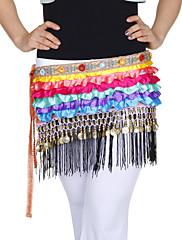 dancewear satén s mincemi / úrovněmi výkonu břišní tanec pás pro dámy