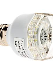 音はE27 3W 240-270LMナチュラルホワイトライトLEDスポット電球(220-240V)を活性化