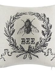 Zemlja pčelinji pamuk / lan dekorativne jastuk poklopac