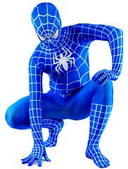 plava i bijela lycra cijelog tijela spiderman Zentai