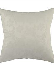moderní květinový bílý polyester dekorační polštář s vložkou