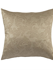 Elegantní květinový béžová polyester dekorační polštář s vložkou