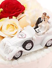 primeros de la torta 'Just Married' topper de la torta