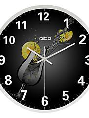 """12 """"h moderní abstraktní nerezové oceli nástěnné hodiny"""