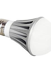 E27 7W 560LM 6000-6500K Přirozené bílé světlo LED žárovky ples (220V)