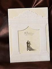 繊細な宮殿の設計結婚式の招待状(50セット)