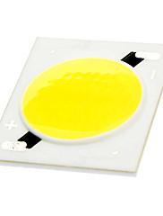 DIY 20W 1400-1800LM 6000-6500KホワイトスクエアセラミックCOB LEDエミッタ(30-33V)