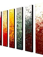 Ručně malované Abstraktní Klasický Tradiční Olejomalba Více než pět panelů
