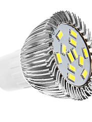 GU10 LED bodovky MR16 12 SMD 5630 360 lm Přirozená bílá AC 110-130 AC 220-240 V