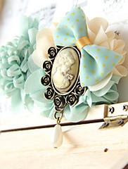 Mix Sweet Dámské barevné Květina s hlavou krásná dívka a luk sponka do vlasů