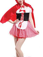 可愛い赤ずきんちゃんの女性のハロウィンコスチューム