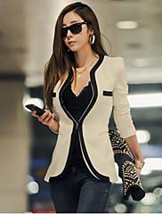 Weimeijiaコントラストカラースリムスーツのジャケット