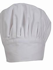 白縫縮レイヤーシェフハット