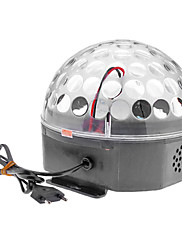 Zvuk Actived 3W RGB LED Crystal Magic Ball pro Disco Party Stage (85-260V)