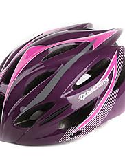 満月サイクリングPC + EPS 21ベントスーパーライトブラック+ピンク自転車/バイクヘルメット