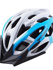 MOONサイクリングPC + EPS 28ベントブルー自転車/バイクヘルメット