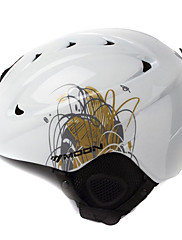 MOON Unsiexグラスホワイト秋/冬ABSスキー/スノーボードヘルメット
