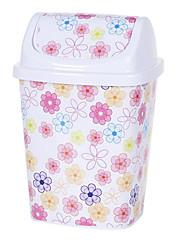 クリエイティブヨーロピアンスタイルホワイトピンクの花蓋付きのビン