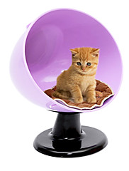 ペット猫犬用スイベルチェアスタイル事務所キティ子犬昼寝ベッド(アソートカラー)