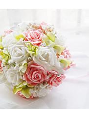Boda de la forma redonda ramo de novia (más colores)