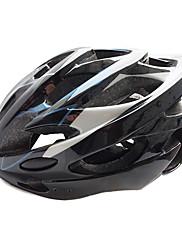フォーミングMOONサイクリングブラック+ブルーロードバイク/スケートヘルメットワン