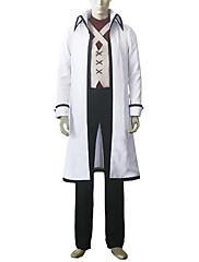 Inspirovaný Fairy Tail Gray Fullbuster Anime Cosplay kostýmy Cosplay šaty Patchwork / Tisk Biały Kabát / Vesta / Tričko / Kalhoty