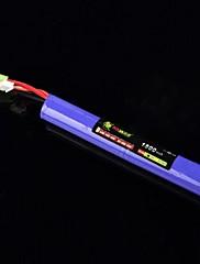 LION 7.4V 1500mAh 20C fialová (malý Tamiya konektor)