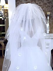 Très beau voile de mariée orné de cristaux
