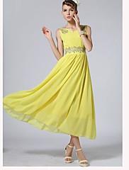 dámské bohemia výšivka strape šifon maxi šaty
